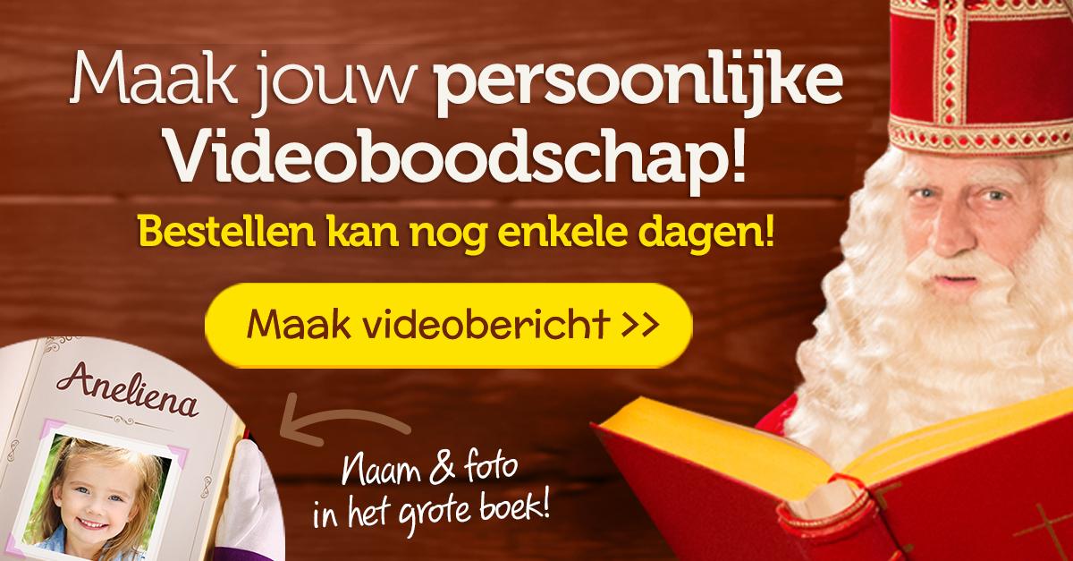 Video van Sint - Een Persoonlijk Videobericht van Sinterklaas